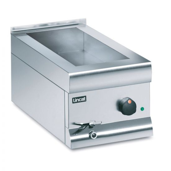 Silverlink 600 Electric Counter-top Bain Marie - Wet Heat - Gastronorms - Base Only - W 300 Mm - 1.0 KW LIN BM3W