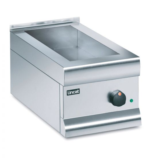 Silverlink 600 Electric Counter-top Bain Marie - Dry Heat - Gastronorms - Base Only - W 300 Mm - 0.5 KW LIN BM3