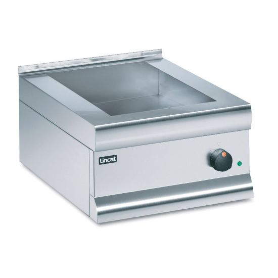 Silverlink 600 Electric Counter-top Bain Marie - Dry Heat - Gastronorms - Base Only - W 450 Mm - 0.75 KW LIN BM4