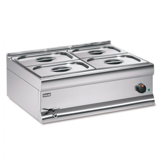 Silverlink 600 Electric Counter-top Bain Marie - Wet Heat - Gastronorms - Base + Dish Pack - W 750 Mm - 2.0 KW LIN BM7XBW