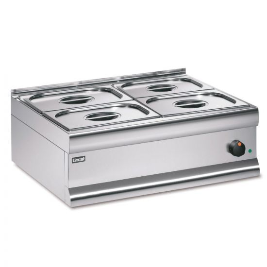 Silverlink 600 Electric Counter-top Bain Marie - Dry Heat - Gastronorms - Base + Dish Pack - W 750 Mm - 1.0 KW LIN BM7XB