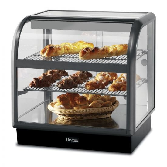 Seal 650 Series Counter-top Curved Front Ambient Merchandiser - Back-Service - W 750 Mm - 0.02 KW LIN C6A-75B