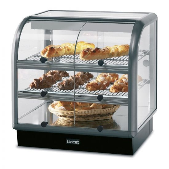 Seal 650 Series Counter-top Curved Front Ambient Merchandiser - Self-Service - W 750 Mm - 0.02 KW LIN C6A-75S