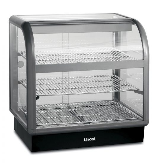 Seal 650 Series Counter-top Curved Front Heated Merchandiser - Back-Service - W 750 Mm - 1.52 KW LIN C6H-75B