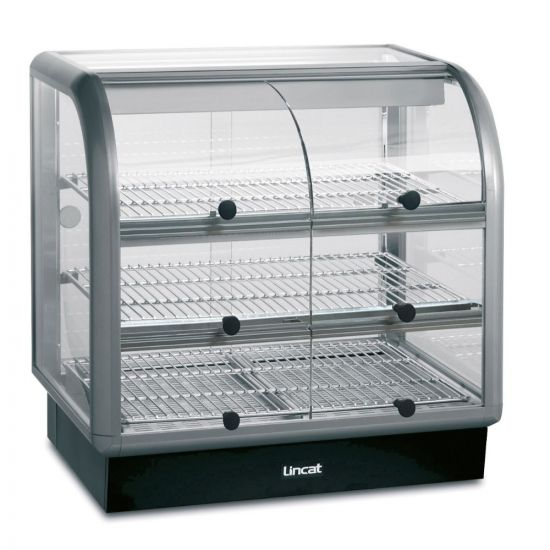 Seal 650 Series Counter-top Curved Front Heated Merchandiser - Self-Service - W 750 Mm - 1.52 KW LIN C6H-75S