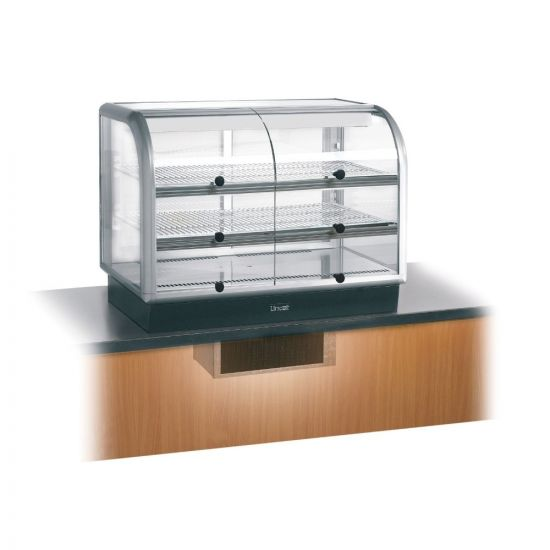 Seal 650 Series Counter-top Curved Front Refrigerated Merchandiser - Self-Service - Under-Counter Power Pack - W 1000 Mm - 0.7 KW LIN C6R-100SU