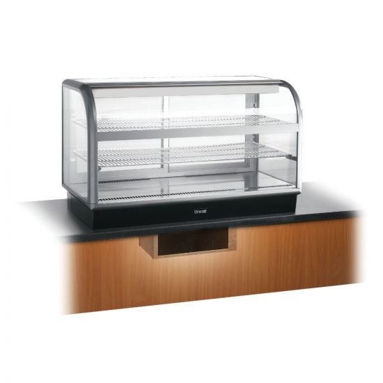 Seal 650 Series Counter-top Curved Front Refrigerated Merchandiser - Back-Service - Under-Counter Power Pack - W 1250 Mm - 0.7 KW LIN C6R-125BU