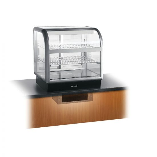 Seal 650 Series Counter-top Curved Front Refrigerated Merchandiser - Back-Service - Under-Counter Power Pack - W 750 Mm - 0.6 KW LIN C6R-75BU