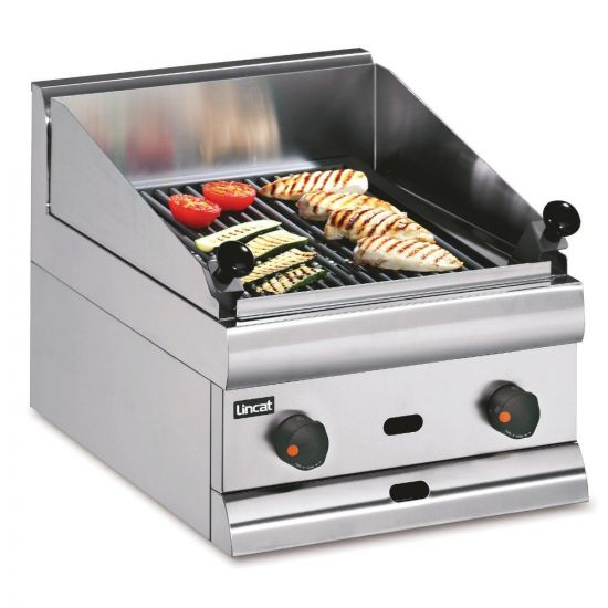 Silverlink 600 Natural Gas Counter-top Chargrill - W 450 Mm - 16.4 KW LIN CG4-N