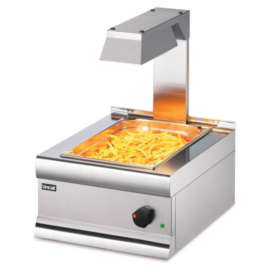 Silverlink 600 Electric Counter-top Chip Scuttle With Overhead Gantry - W 450 Mm - 1.0 KW LIN CS4-G