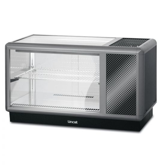 Seal 500 Series Counter-top Refrigerated Merchandiser - Back-Service - W 1000 Mm - 0.6 KW LIN D5R-100B