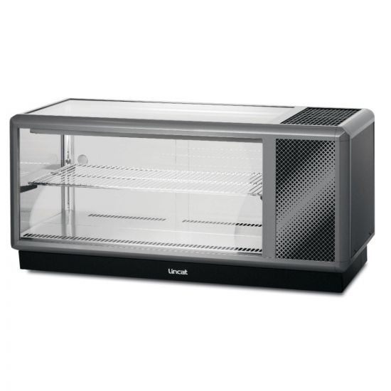 Seal 500 Series Counter-top Refrigerated Merchandiser - Back-Service - W 1250 Mm - 0.6 KW LIN D5R-125B