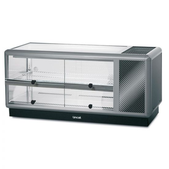 Seal 500 Series Counter-top Refrigerated Merchandiser - Self-Service - W 1250 Mm - 0.6 KW LIN D5R-125S