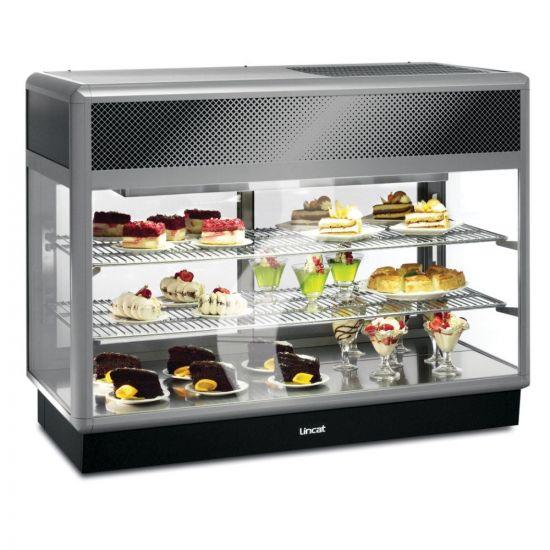 Seal 650 Series Counter-top Rectangular Front Refrigerated Merchandiser - Back-Service - W 1250 Mm - 0.7 KW LIN D6R-125B