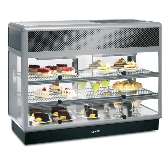 Seal 650 Series Counter-top Rectangular Front Refrigerated Merchandiser - Self-Service - W 1250 Mm - 0.7 KW LIN D6R-125S