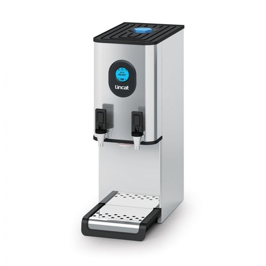 Lincat FilterFlow Counter-top Automatic Fill Twin-Tap Water Boiler - W 250 Mm - 6.0 KW LIN EB6TFX