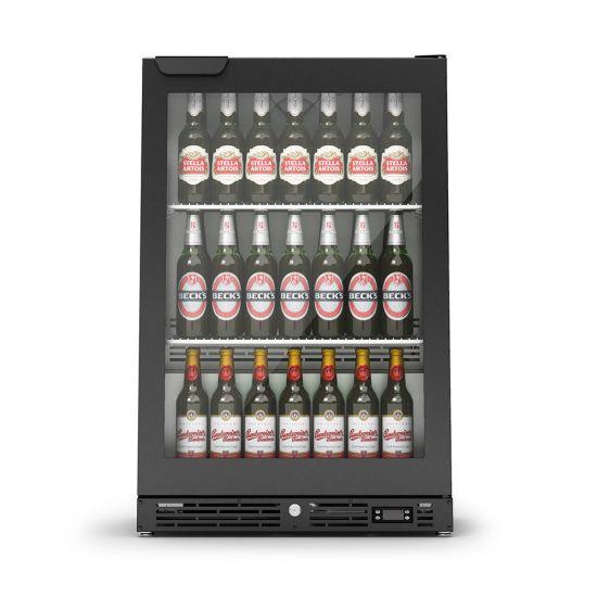 IMC IMCool C60 Bottle Cooler - 135 Bottle Capacity - Black Door - W 600 Mm - 0.437 KW LIN F82-060-B