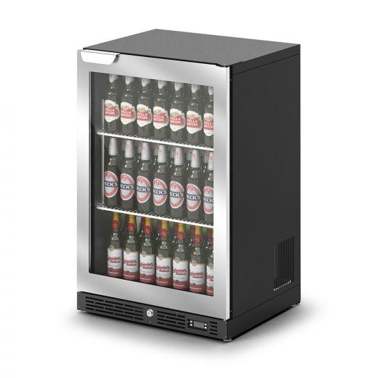 IMC IMCool C60 Bottle Cooler - 135 Bottle Capacity - Silver Door - W 600 Mm - 0.437 KW LIN F82-060-SL