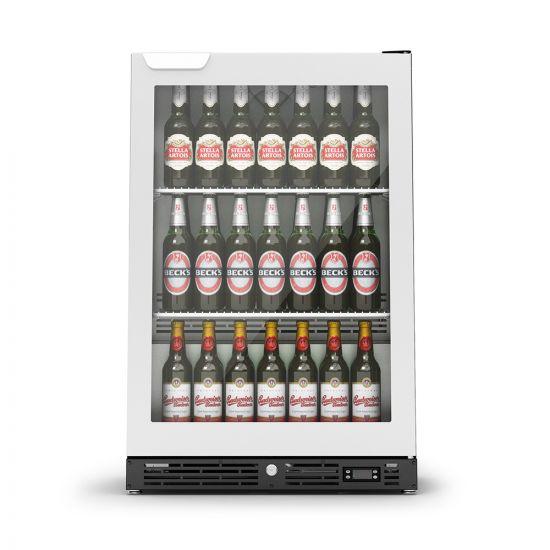 IMC IMCool C60 Bottle Cooler - 135 Bottle Capacity - Stainless Steel Door - W 600 Mm - 0.437 KW LIN F82-060-SS