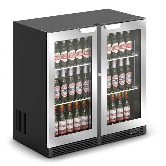 IMC IMCool C90 Bottle Cooler - 206 Bottle Capacity - Silver Doors - W 900 Mm - 0.46 KW LIN F82-090-SL