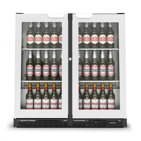 IMC IMCool C90 Bottle Cooler - 206 Bottle Capacity - Stainless Steel Doors - W 900 Mm - 0.46 KW LIN F82-090-SS