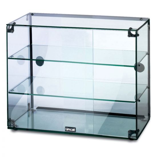 Seal Counter-top Glass Display Case - Rear Sliding Doors - W 607 Mm LIN GC36D