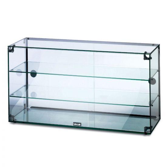 Seal Counter-top Glass Display Case - Rear Sliding Doors - W 907 Mm LIN GC39D