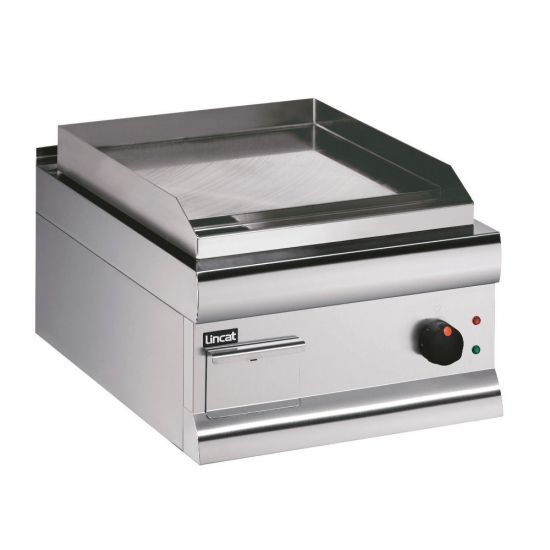 Silverlink 600 Electric Counter-top Griddle - Steel Plate - W 450 Mm - 2.7 KW LIN GS4