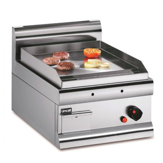 Silverlink 600 Propane Gas Counter-top Griddle - Steel Plate - W 450 Mm - 5.5 KW LIN GS4-P