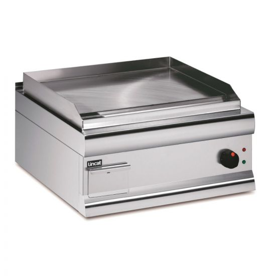 Silverlink 600 Electric Counter-top Griddle - Steel Plate - Single Zone - Extra Power - W 600 Mm - 4.5 KW LIN GS65