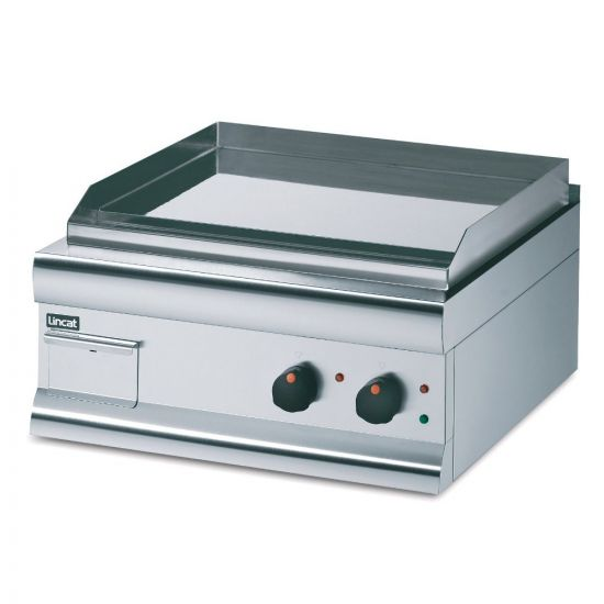 Silverlink 600 Electric Counter-top Griddle - Chrome Plate - Twin Zone - W 600 Mm - 4.0 KW LIN GS6C-T