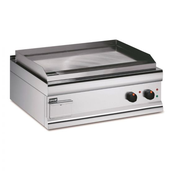 Silverlink 600 Electric Counter-top Griddle - Chrome Plate - W 750 Mm - 6.0 KW LIN GS7-C