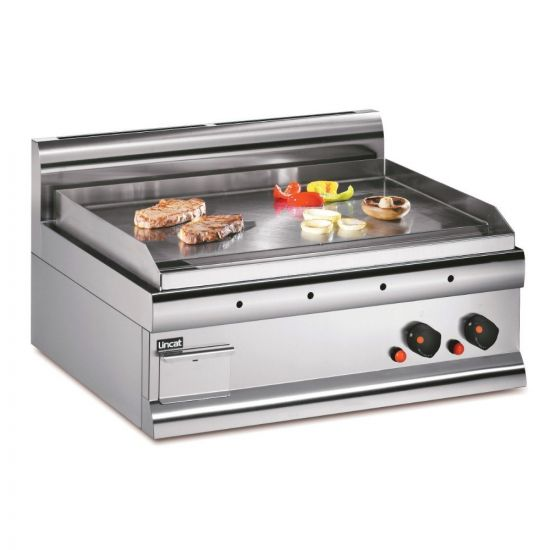 Silverlink 600 Natural Gas Counter-top Griddle - Steel Plate - W 750 Mm - 7.5 KW LIN GS7-N