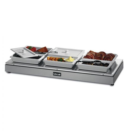 Seal Counter-top Heated Display Base - 3 X 1/1 GN - W 1094 Mm - 1.4 KW LIN HB3
