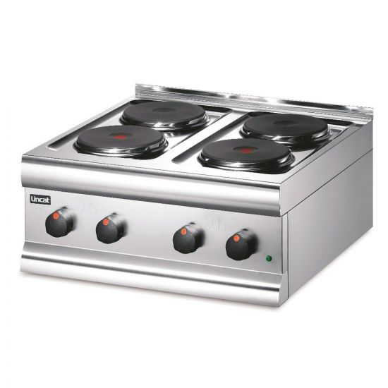 Silverlink 600 Electric Counter-top Boiling Top - 4 Plates - W 600 Mm - 7.0 KW LIN HT6