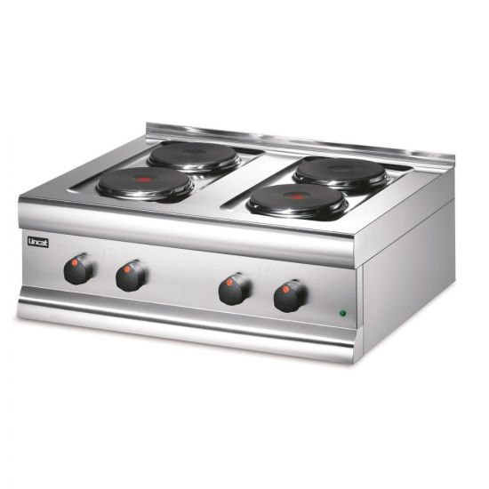 Silverlink 600 Electric Counter-top Boiling Top - 4 Plates - W 750 Mm - 7.0 KW LIN HT7