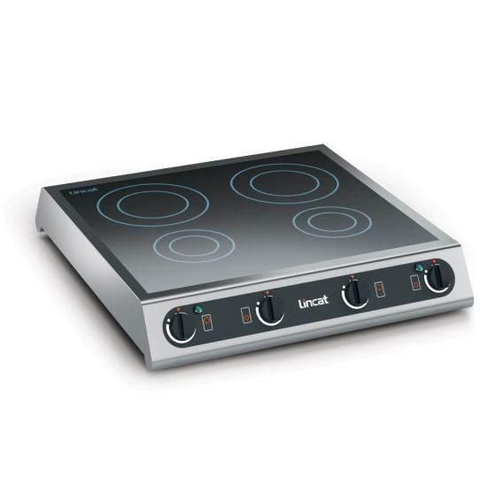 Lincat Electric Counter-top Induction Hob - 4 Zones - W 600 Mm - 6.0 KW LIN IH42