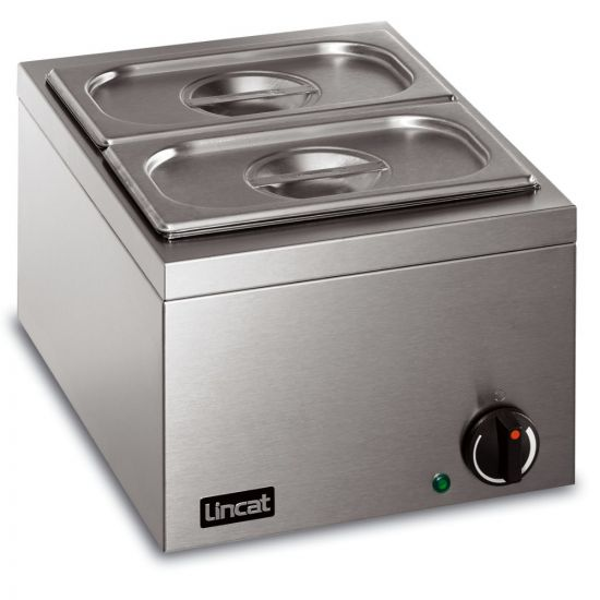 Lynx 400 Electric Counter-top Bain Marie - Dry Heat - Inc. 2 X 1/4 GN Dishes - W 285 Mm - 0.25 KW LIN LBM
