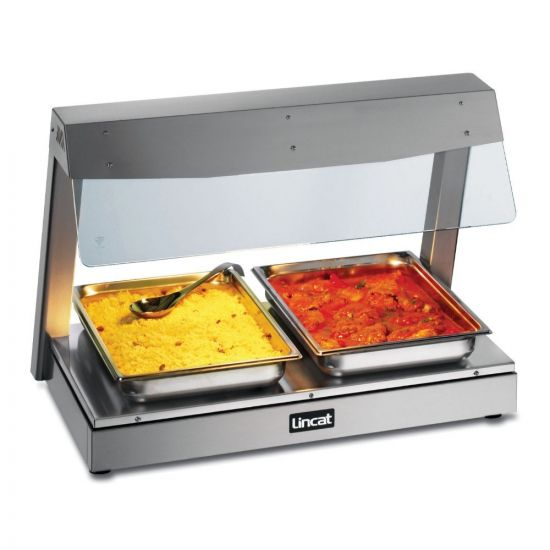 Seal Counter-top Heated Display With Gantry - 2 X 1/1 GN - W 790 Mm - 1.5 KW LIN LD2
