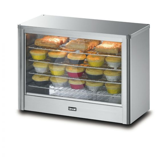 Seal Counter-top Pie Cabinet With Illumination And Humidity Feature - Heated - W 710 Mm - 0.8 KW LIN LPW-LR