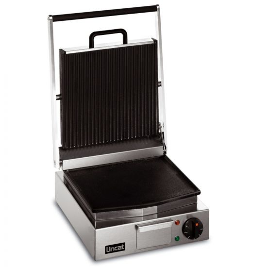 Lynx 400 Electric Counter-top Single Ribbed Grill - Ribbed Upper & Smooth Lower Plates - W 310 Mm - 2.25 KW LIN LRG