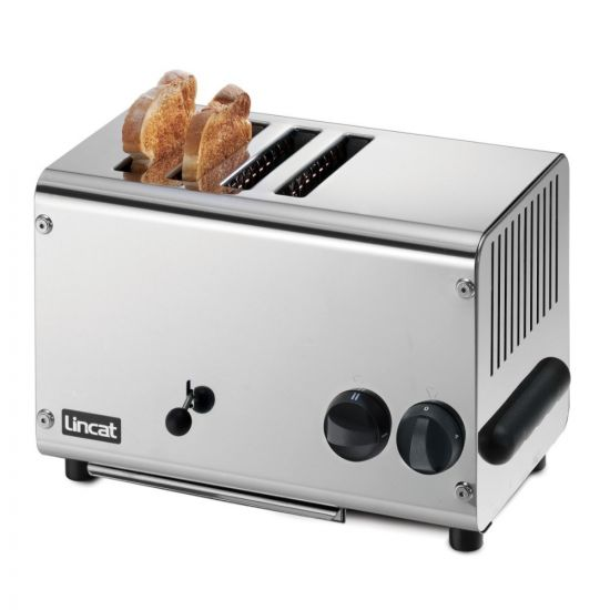 Lincat Electric Counter-top Slot Toaster - 4 Slots - W 392 Mm - 2.3 KW LIN LT4X