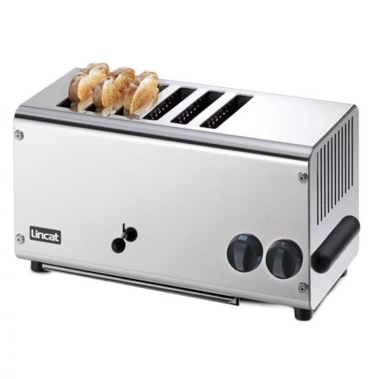 Lincat Electric Counter-top Slot Toaster - 6 Slots - W 482 Mm - 3.0 KW LIN LT6X