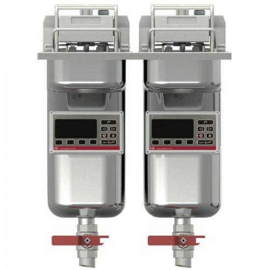 FriFri Vision 422 Electric Built-in Twin Tank Fryer - 2 Baskets - W 400 Mm - 2 X 9.0 KW LIN MB42221-G700