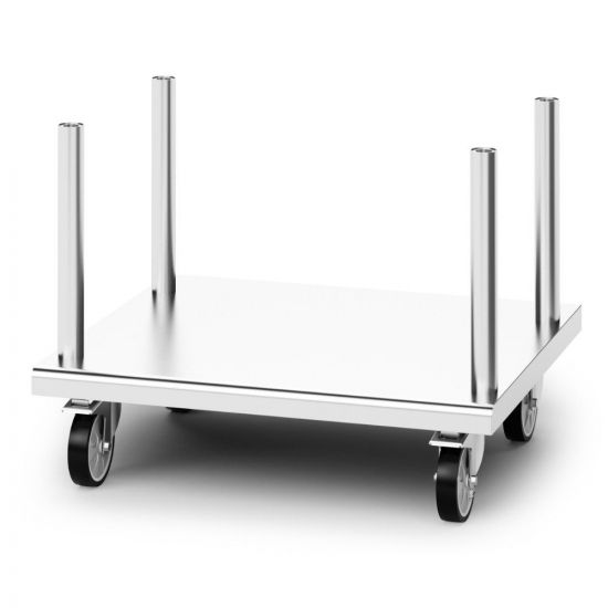 Opus 800 Free-standing Floor Stand With Castors - For Units W 900 Mm LIN OA8914-C