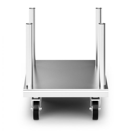 Opus 800 Free-standing Floor Stand With Castors - For Units W 600 Mm LIN OA8917-C