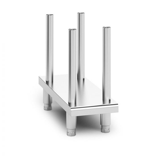 Opus 800 Free-standing Floor Stand With Legs - For Units W 300 Mm LIN OA8934