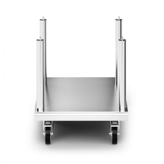 Opus 800 Free-standing Floor Stand With Castors - For Units W 600 Mm LIN OA8950-C