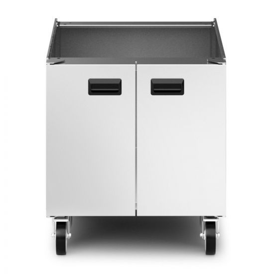 Opus 800 Free-standing Pedestal With Doors And Castors - For Units W 600 Mm LIN OA8972-C