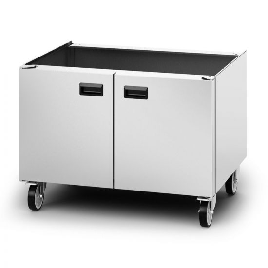 Opus 800 Free-standing Pedestal With Doors And Castors - For Units W 900 Mm LIN OA8973-C